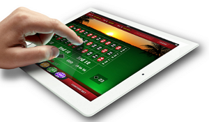 Play Casino on your tablet