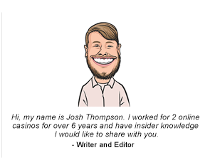 Online Casino Expert Josh Thompson - Desktop version